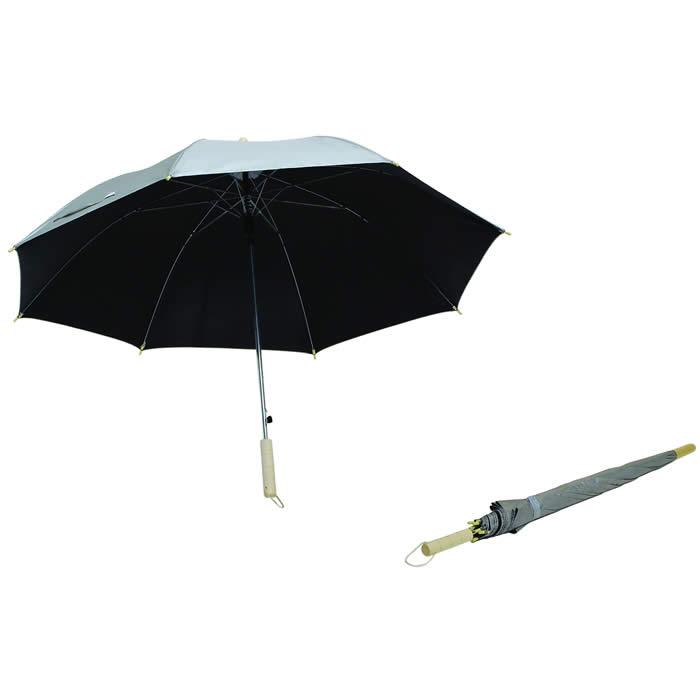 """PARAGUAS MEDIANO """"SILVER RAIN"""" 09-313, sombrilla para golf, paraguas para golf, sombrilla promocinal, sombrilla para impresion, sombrilla campaña, sombrilla con logotipo, sombrilla impresa, paraguas campaña, paraguas personalizado, paraguas impreso"""