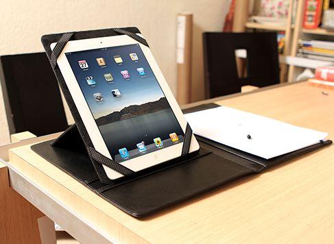 Carpeta porta ipad, porta tableta promocional, porta tableta ejecutiva, porta tableta regalo, EX-34