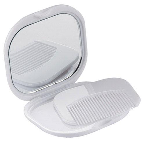 Estuche espejo y cepillo para campaña el mas economico DAM 804, espejo y cepillo campaña, espejo dolly, espejo personalizado, espejop y peine economico, espejo impreso con cepillo