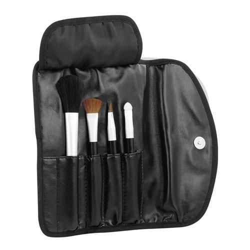 Set de brochas para maquillaje promocional black shadow , dam 870, set de brochas personalizado, set brochas camapaña, set brochas impreso