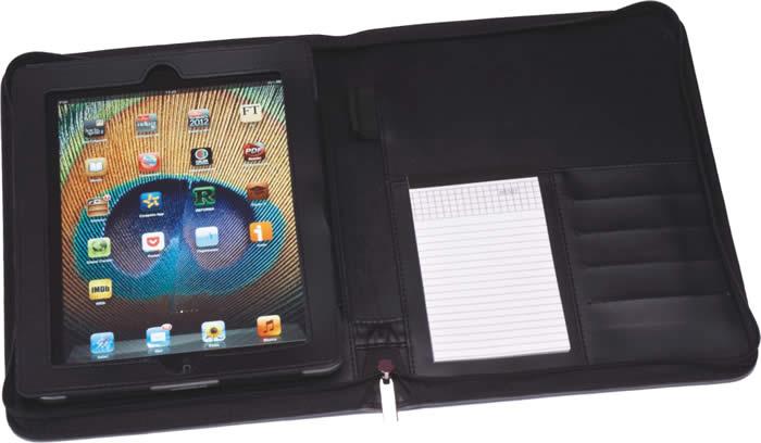 Funda para tableta con block , fl-16890, regalo ejecutivo, portaipad, porta ipad, regalo dia del padre