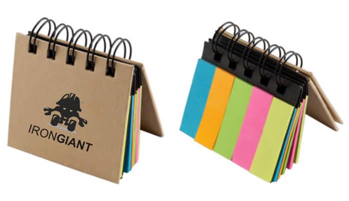 libreta con porta notas, libreta patrick, venta libreta con porta notas, porta notas personalizado, portanotas impresos
