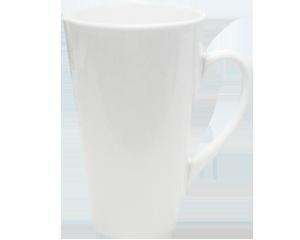 Taza C�nica Lily, taza promocinal para sublomacion, SUB102, tazas promocional Lily