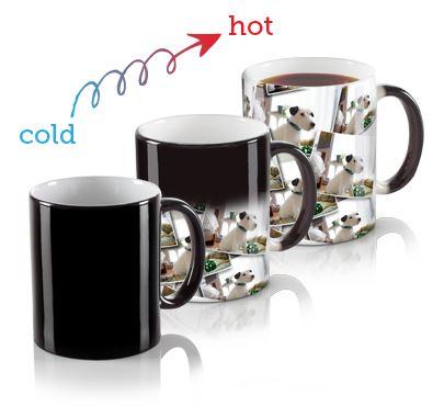 Taza promocional, tazas magica, taza magic, taza que cambia con calor, SUB116