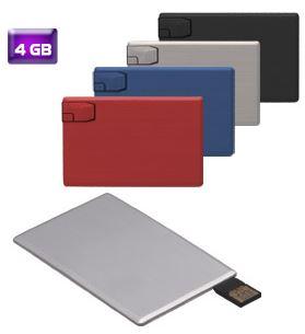 USB TARJETA, USB 4 GB, USB EN FORMA DE TARJETA, USB EN FORMA DE TARJETA PERSONALIZADO, USB PROMOCIONAL TARJETA, USB004
