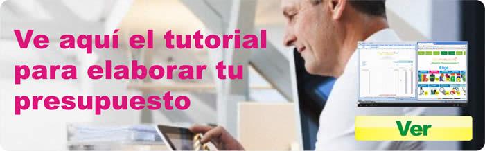Video tutorial para elaborar tu presupuesto de promocionales de Gelpublicite, video de youtube