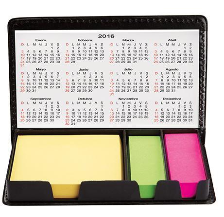 Porta notas promocional para oficina HL 6655, porta notas personalizado, porta post it regalo ejecutivo
